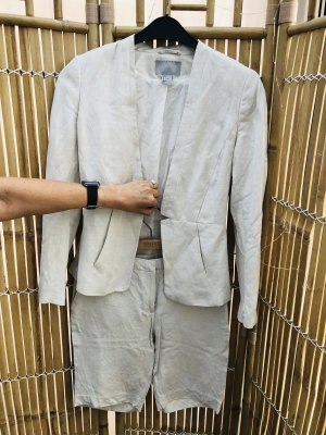 H&M Trouser Suit natural white