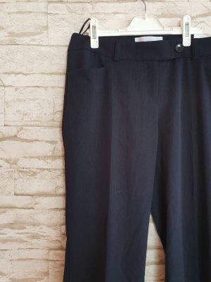 s.Oliver Pantalone da abito nero-antracite