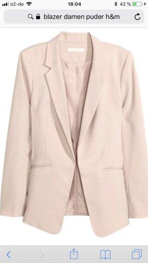 H&M Tailleur pantalone antracite-color carne