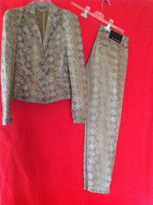 Sisley Traje de pantalón marrón grisáceo-beige claro Algodón