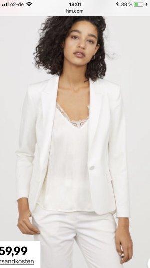 Mango Suit Tailleur-pantalon blanc