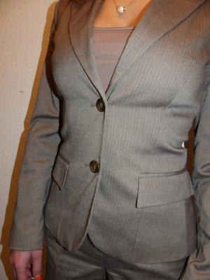 Jake*s Costume business marron clair-brun sable tissu mixte
