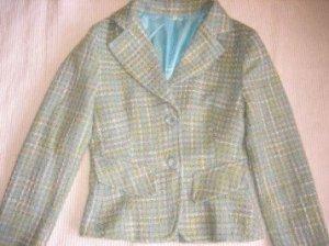 anzug pastel blazer und rock wie neu gr. s 36 kostuem
