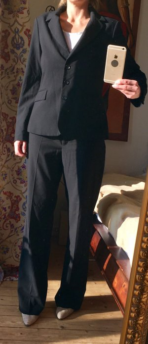 Anzug, schwarz, ESPRIT, Größe 40