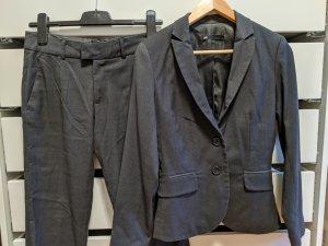 WE Fashion Trouser Suit dark grey-anthracite