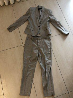 Zara Business Suit grey-white