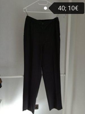 Bianca Pantalone da abito nero