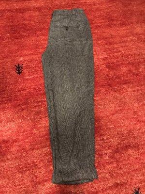 Zara Pantalone a vita alta nero-grigio chiaro