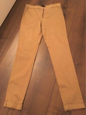 Anzughose beige