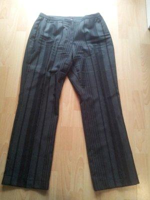 Pantalon de costume noir-blanc polyester