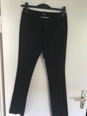 Mexx Pantalon de costume gris anthracite-rouge carmin