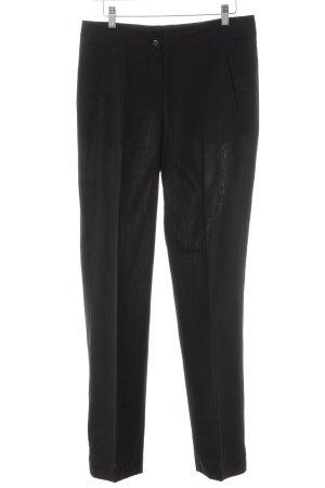 Pantalone da abito nero stile professionale