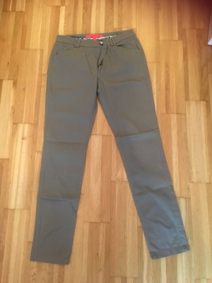Mango Basics Suit Trouser grey brown
