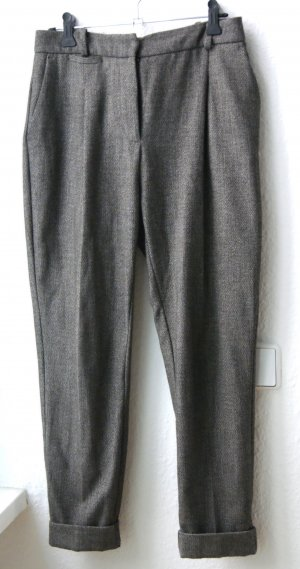 Zara Boyfriend Trousers multicolored