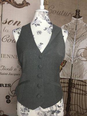 Orsay Chaleco de vestir gris-blanco