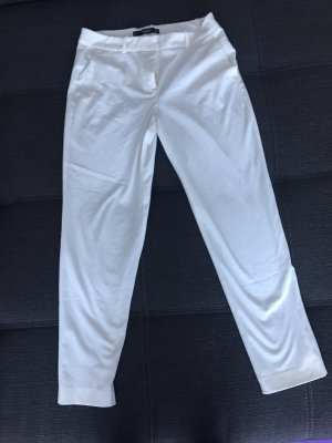 Mango Basics Pantalone da abito bianco