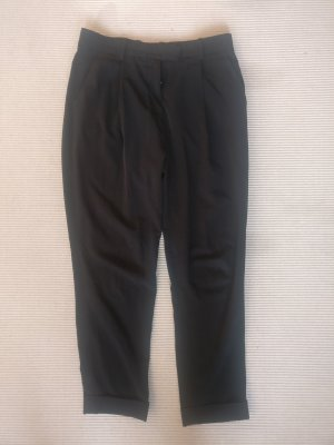 COS Pleated Trousers black cotton