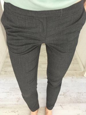 H&M Suit Trouser grey-dark grey