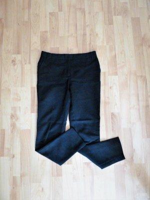 Anzugshose schwarz Baumwolle