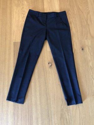 Benetton Pantalone a 7/8 blu scuro