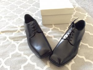 COS Business Shoes black leather