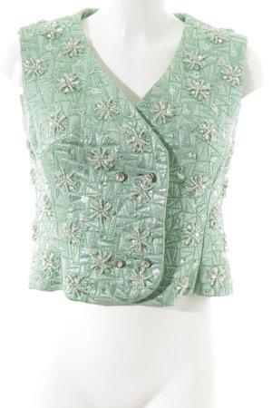Gilet verde elegante