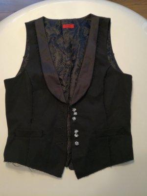 Hugo Boss Chaleco de vestir negro