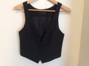 Cinque Gilet de costume noir acétate