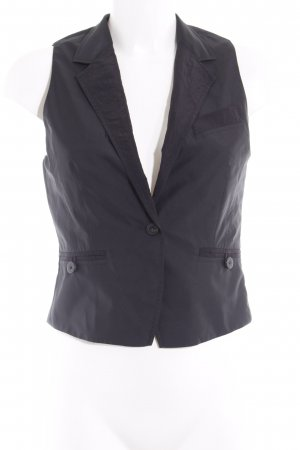 Chaleco de vestir negro estilo «business»