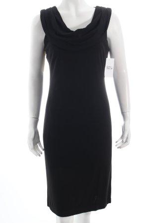 Apanage Abendkleid schwarz schlichter Stil