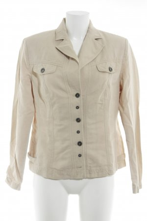 Apanage Blusenjacke hellgelb Casual-Look
