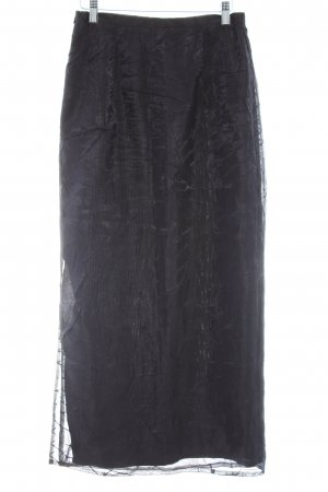 Apanage Crash Skirt black elegant