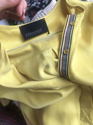 Apanage Abito a tunica giallo Cupro