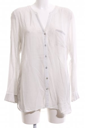 Apanage Hemd-Bluse weiß Casual-Look