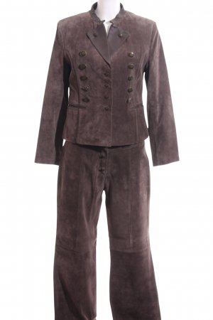 Apanage Trouser Suit bronze-colored classic style