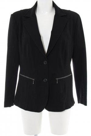 Apanage Blazer en jersey noir style d'affaires