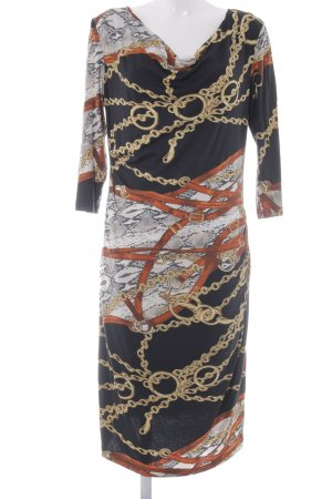 Apanage Jerseykleid Motivdruck Elegant