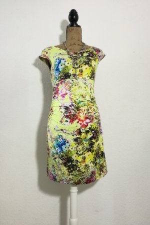 Apanage Midi Dress yellow-grass green