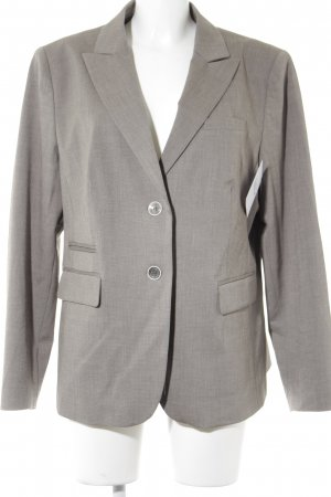 Apanage Kurz-Blazer grau-beige meliert Business-Look