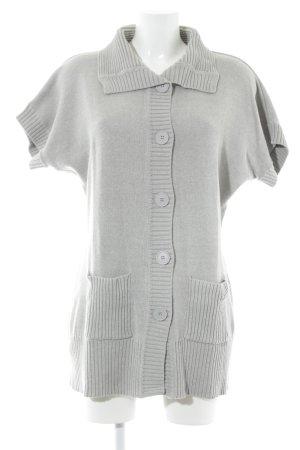 Apanage Cardigan a maniche corte grigio chiaro stile casual