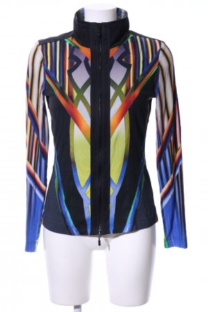 Apanage Short Jacket abstract pattern casual look