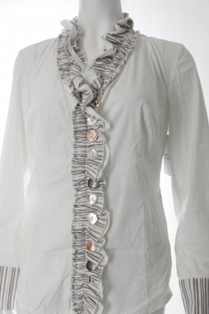 Apanage Langarm-Bluse mehrfarbig extravaganter Stil