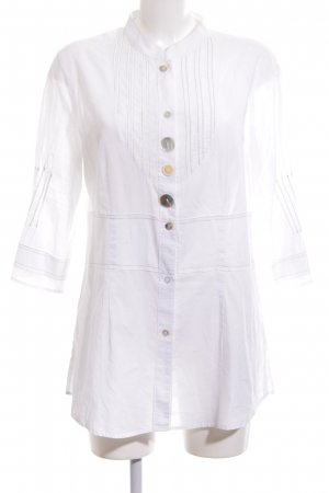 Apanage Long Sleeve Blouse white casual look