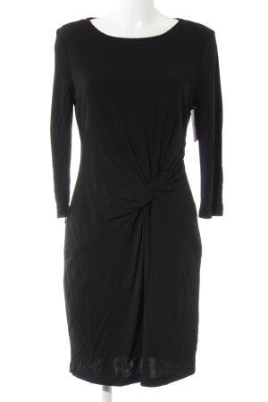 Apanage Robe à manches longues noir élégant