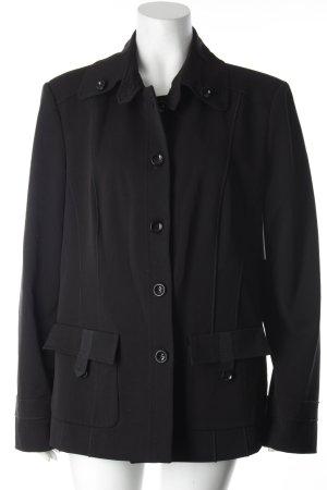 Apanage Lange Jacke schwarz klassischer Stil