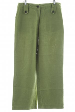 Apanage Linen Pants grass green casual look