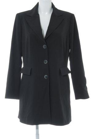 Apanage Lange blazer zwart zakelijke stijl