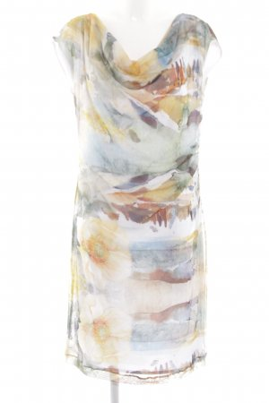 Apanage Midi Dress abstract pattern casual look