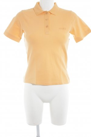 Apanage Polo-Shirt orange sportlicher Stil