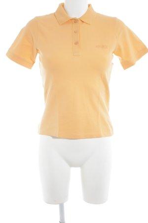 Apanage Polo shirt oranje atletische stijl